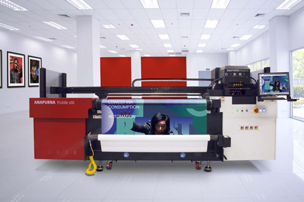 Máquinas para impresión digital de gran formato